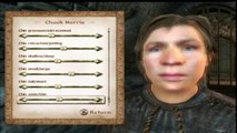Chuck Norris in Oblivion Character Creation Tutorial (Xbox 360/PS3)