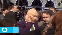 Patrick Stewart Kisses Conan O'Brien on 'Conan'