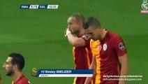 1-1 Wesley Sneijder Amazing Goal _ Real Madrid v. Galatasaray - Trofeo Bernabeu 18.08.2015 HD