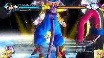 PC DRAGON BALL Xenoverse   Battle Of Gods  Gold SSJ God Goku VS Beerus & Whis