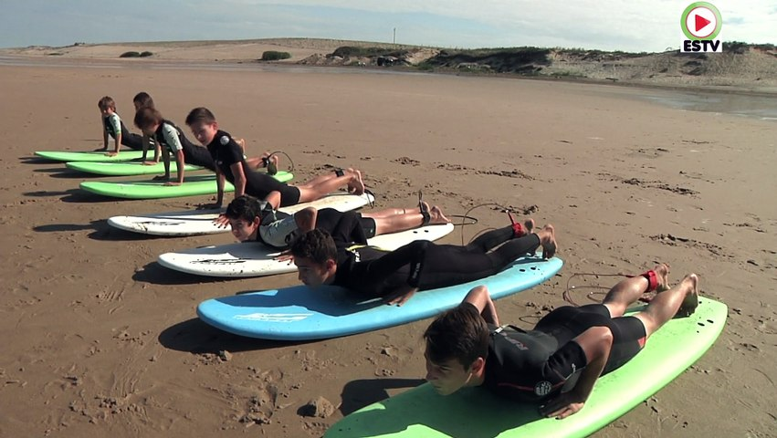 Montalivet: Carakas Surf School - Euskadi Surf TV
