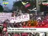 Hugo Chavez el pueblo y los militares continuaran unidos para construir el socialismo