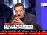 Becali si-a tras blog