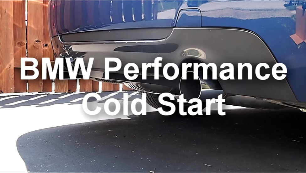 BMW Performance Exhaust – BMW 335i N55