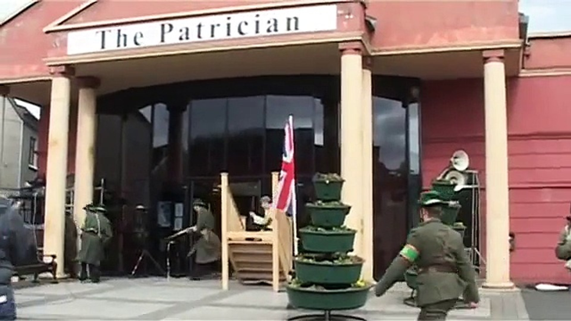 Re-Enactment of Easter Rising 1916 (Part 1)