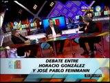 678 - EL DEBATE ENTRE HORACIO GONZALEZ Y JOSE PABLO FEINMANN - TERCERA PARTE 30-08-12