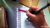 flower speed drawing by cupcake kisses