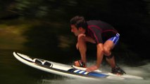 Electric Surfboards turn Mississippi river into great new surf spot! River jetsurfing 2015
