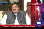 Sheikh Rasheed Reveals That Who Is The Back At This Rasheed Godil Attack