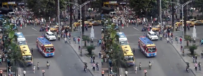 (3D) Medellin - Robo en Plaza Botero
