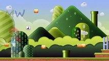 Super Mario Cartoon Theme Finger Family Nursery Rhymes | Super Mario Children Rhymes for Nursery