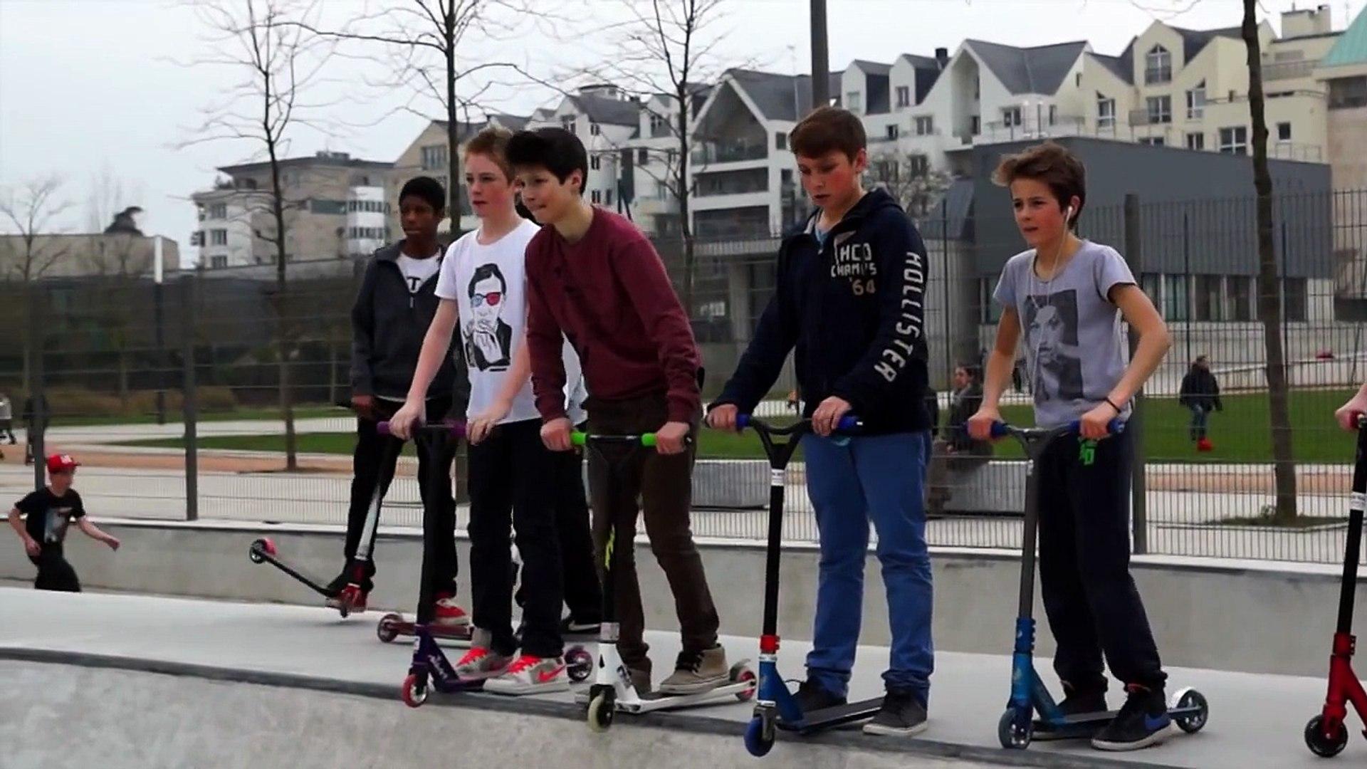 Trotinette Freestyle Skatepark
