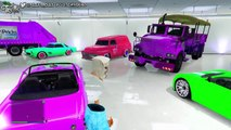 "GTA 5 Online ""RARE & MODDED VEHICLES"" Showcase (GTA MODDED CARS) Modded: paint jobs, cars and more!"