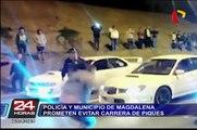 Policía y municipio de Magdalena prometen evitar carrera de 'piques'