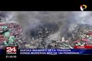 China: difunden nuevas imágenes de la explosión en Tianjin