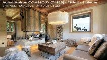 Vente - maison/villa - COMBLOUX (74920) - 6 pièces - 185m²