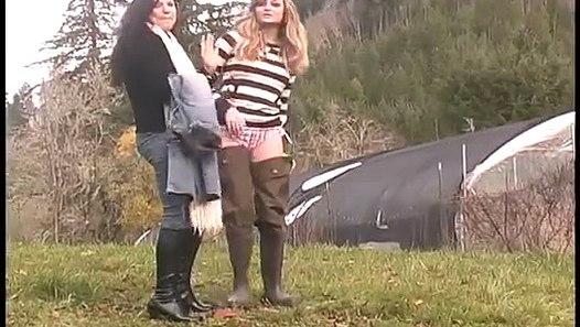 Women in Waders TM Photoshoot - YouTube
