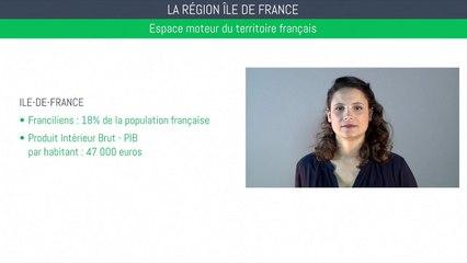 Brevet géographie - La région Ile de France