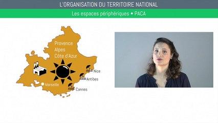 Brevet géographie - L'organisation du territoire national