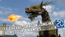 Le cheval-dragon Long Ma est de retour sur l'île de Nantes