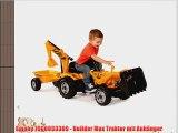 Smoby 7600033389 - Builder Max Traktor mit Anh?nger