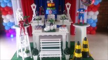 Decoração de festa infantil Os Vingadores - Provençal