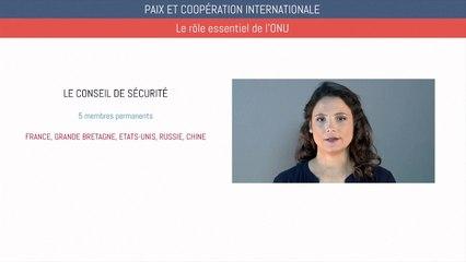 Brevet éducation civique - Paix et coopération internationale