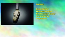 Rock Band 3 Wireless Fender Stratocaster Guitar Controller for Playstation