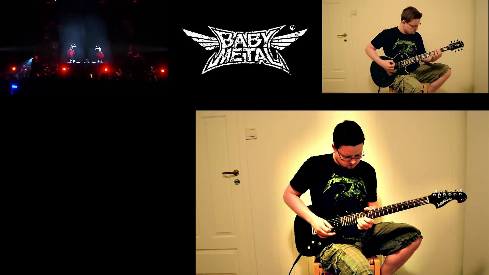 Babymetal – Akatsuki guitar cover (w tabs)