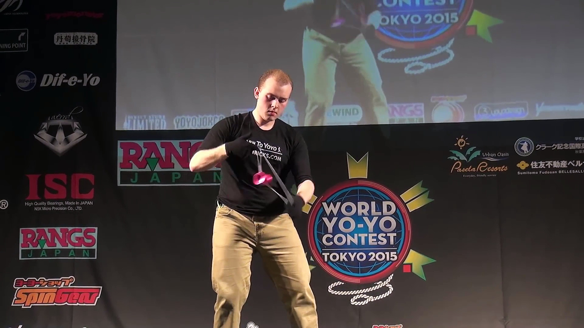 Yoyo champion – The winning routine from the 2015 World Yoyo Contest