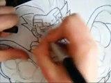 How to Draw Baby Vegeta
