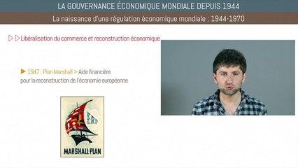 Bac histoire - La gouvernance économique mondiale