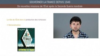 Bac histoire - Gouverner la France depuis 1946