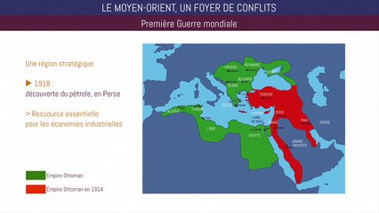 Bac histoire - Le Moyen-Orient, un foyer de conflit