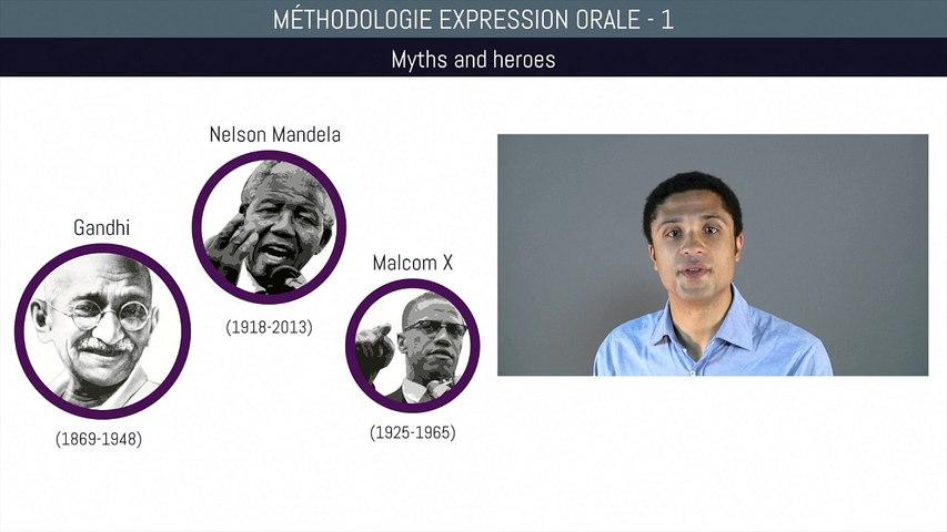 Bac anglais - Méthodologie expression orale