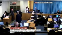 'Tony Blair is a war criminal!' Video of protester at Leveson Inquiry