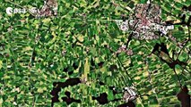 Earth from Space - Reclaimed lands