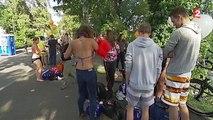 Bâle : 1 600 baigneurs se rassemblent dans le Rhin