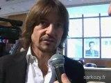 Daniel Bravo soutient Nicolas Sarkozy