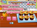 Cooking Games: Thanksgiving Cupcakes - Play Barbie Game - Cooking Games for Girls