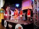 Profª Juliana Borba -  Ministrando Aula de Body Pump  no WORK SHOP- Música de BÍCEPS