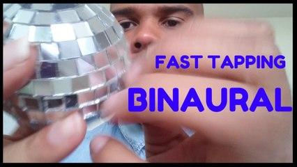 ASMR Fast tapping BINAURAL