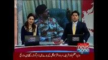 Chief Minister Sindh Syed Qaim Ali Shah meeting with DG Rangers