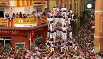 Espagne : les tours humaines de Tarragone toujours plus populaires