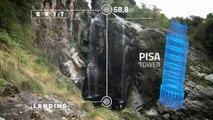 Watch Laso Schaller Jump 59 Meters Off a Cliff