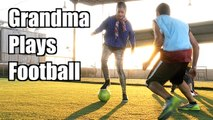 Grandma Vs Football - World Freestyle Champions