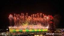 Spectacular Closing Ceremony firework display closes London 2012 Olympics