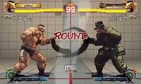 Batalla de Ultra Street Fighter IV: Zangief vs Zangief