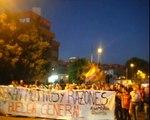 Sanse y Alcobendas por la huelga. MANIFESTACION.