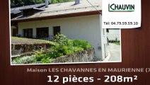 A vendre - LES CHAVANNES EN MAURIENNE (73660) - 12 pièces - 208m²